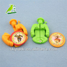 direct Manufacturer plastic toy, kids toy soldier flying saucer emitter,funny plastic toy,