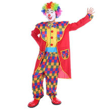 Halloween carnival new design square clown party costume