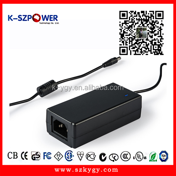 D Series 60w MTBF 50000 hours <strong>100</strong>-240vac switching AC DC 12VDC 5Amp power adapter with CE