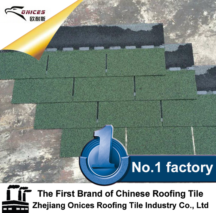 Decorative roofing material 3-tab asphalt shingles sale