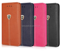 Hot Vertical Flip Cell Phone Housing Shell For iPhone 6 Mobile Phone Cases Shell Shield Leather Skin with Card Slots