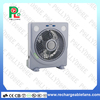 stand rechargeable fan with LED light/remote control