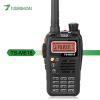 5W Outdoor Sports Walkie Talkie TS-M618 Dual Band Ham Two Way Radio