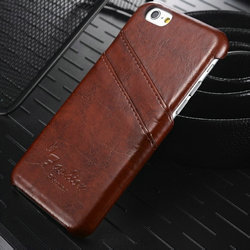 Luxury R64 Leather Phone Case for i Phone, Hard Case for iPhone 6s With Card Slots, Back Cover for iPhone 6s