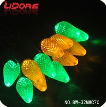 LIDORE Commercial Grade C7 Highly Waterproof Led Multicolor String Light
