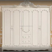 Wardrobe Bedroom Furniture Five Doors With Drawers Big Chest Luxury Wooden Source Building Material:chinahomeb2b.com