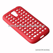 Stylus soft TPU cover red color for Samsung Galaxy S4 i9500