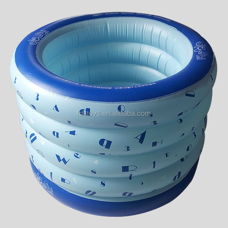 PVC family inflatable paddling pool for baby