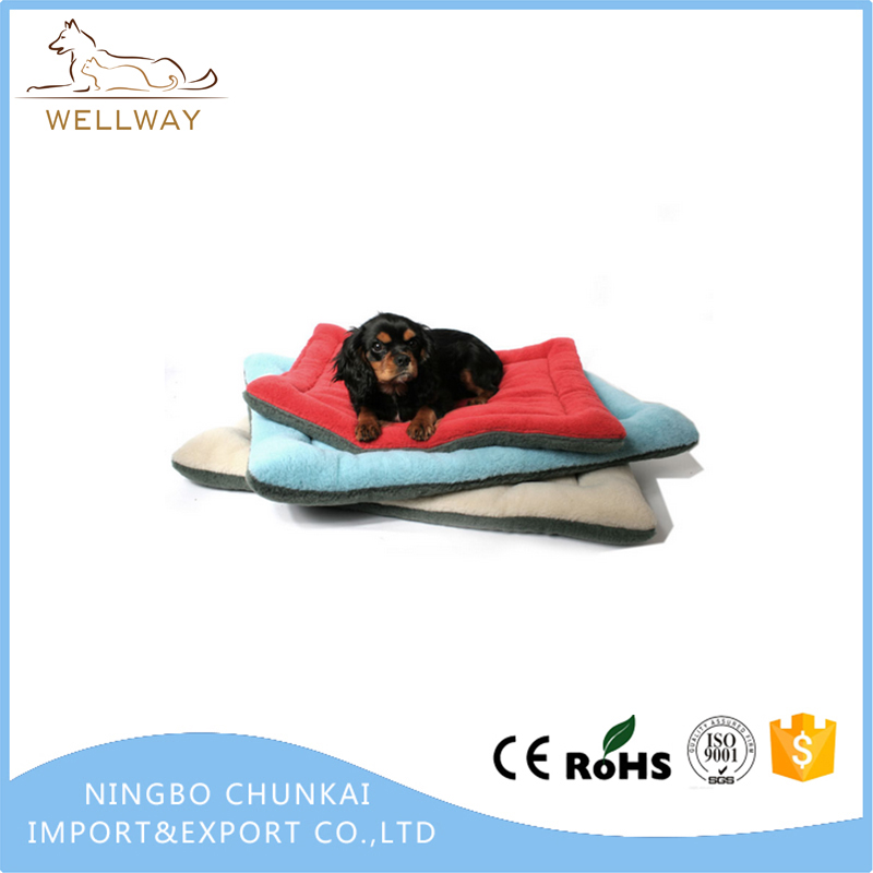 Dogs Blanket Crate Pad Cat Bed Dog Crate Cushions Pad Washable Filling Pads Soft Furry Pet Bed Mat
