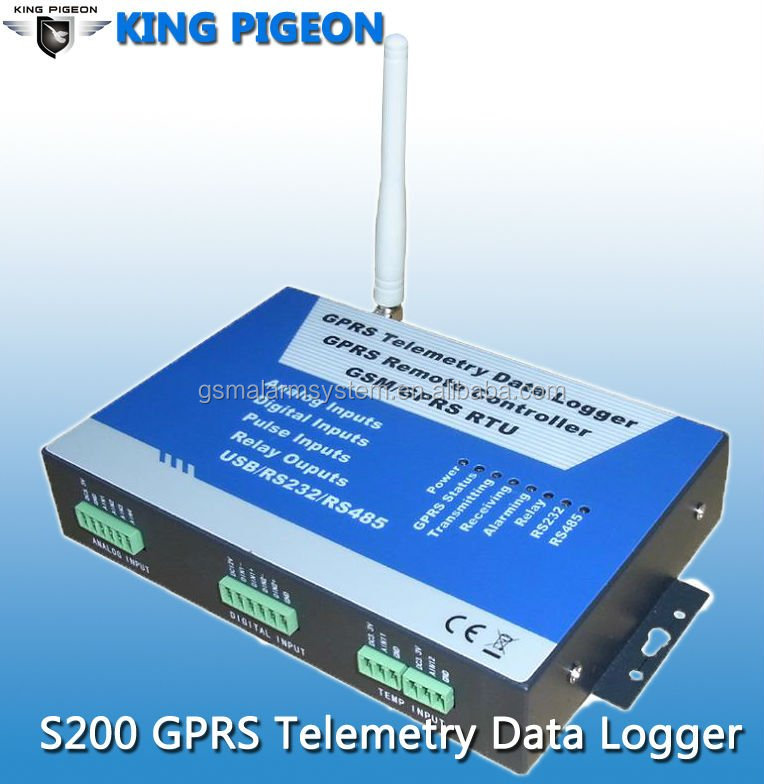 GPRS RTU telemetry data Logger,SCADA,for weather station and water and waste water Monitoring and Farm and Irrigation S200