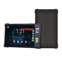 Android 8&quot; 3G 4G LTE MTK6737 Quad core rugged android <strong>tablet</strong> PC with biometric fingerprint NFC reader
