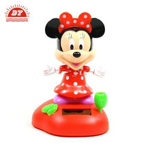3d custom made plastic car dashboard cartoon figurine toys