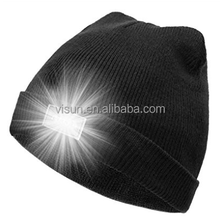 Winter Warm Hunting LED light Night Outdoor Sport beanie hat