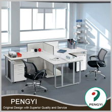 Lowest price office furniture t shaped 2 person office desk,two person office desks,2 seat office desk