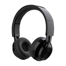 Portable wireless bt headset foldable stereo headphone
