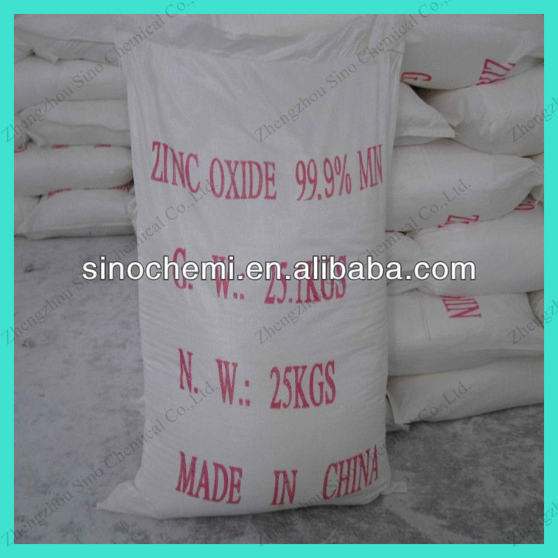 Rubber Grade Manufacturer supply Crude Zinc Oxide