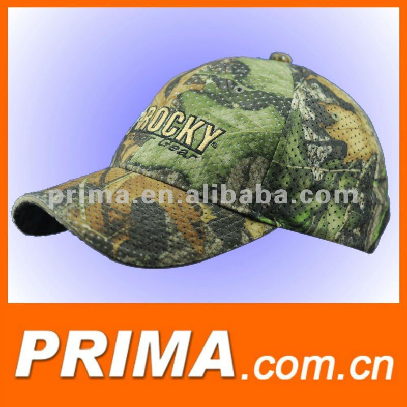 Wholesale fashions custom brand new camo 6 panels hats and caps