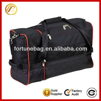 Fashion functional promotional sports duffel bags