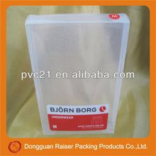 2013 popular wholesale pet plastic box packing for cosmetic