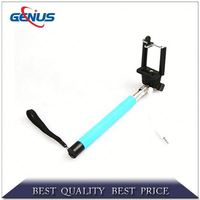 OEM android phone without camera new aluminum monopod selfie stick