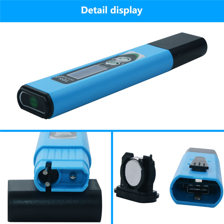 Portable Digital TDS meter Quality Purity Tester for Aquarium Swimming Pool
