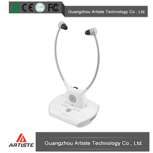 Wireless rechargeable hearing aids headphones for tv