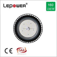200lm/w led chip UFO high bay 200w 150w LED High Bay Light 30000lm Dull polish balck aluminum housing SAA listed