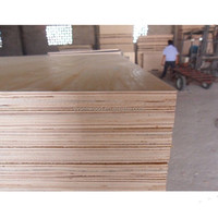 different types of wood veneer melamine laminated plywood 18mm