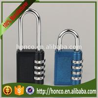 Multifunctional Luggage Zinc Alloy Combination Padlock made in China HC-HB04
