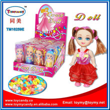 China doll factory wholesale price Lovely Girl Doll princess Toys with Candy Doll Dress-Up Girl Games