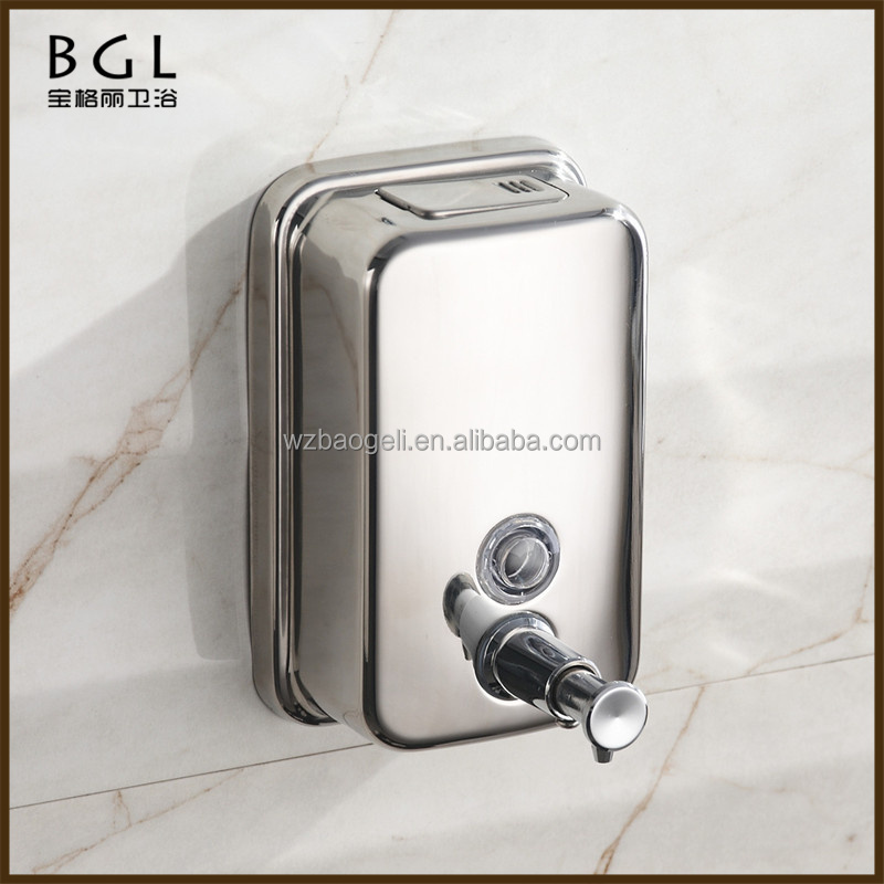 2015news bathroom accessories simply design automatic soap dispenser