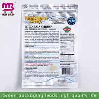 Food safe standard brand logo printed cusotm design heat seal resealable plastic bags for food