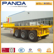 Pandamech New Design 4 Alxe Flatbed Truck Dimensions With Air Suspension