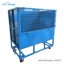 Warehouse supermarket customized promotional transport cages and steel wire cage