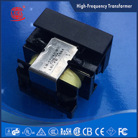 factory supply vertical type EE160 high frequency transformer,accept custom
