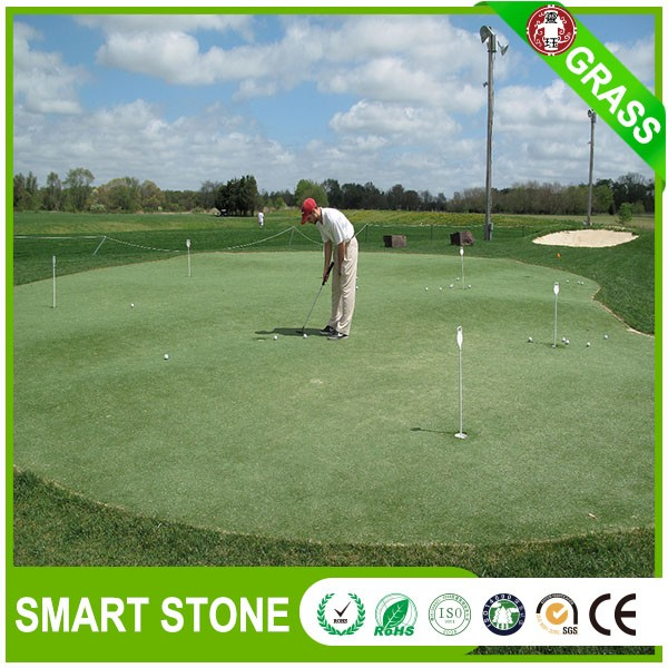 Fire Resistant Synthetic Turf Grass For Outdoor Mini Golf In High Density Artificial Turf For Mini Golf Mat