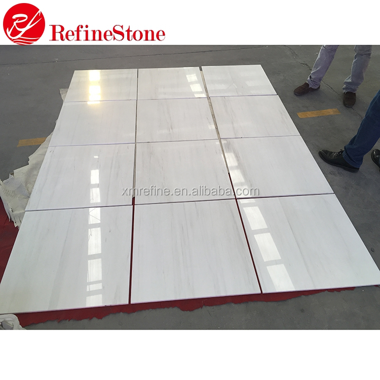 Best quality eastern white marble, cheap white marble floor tiles
