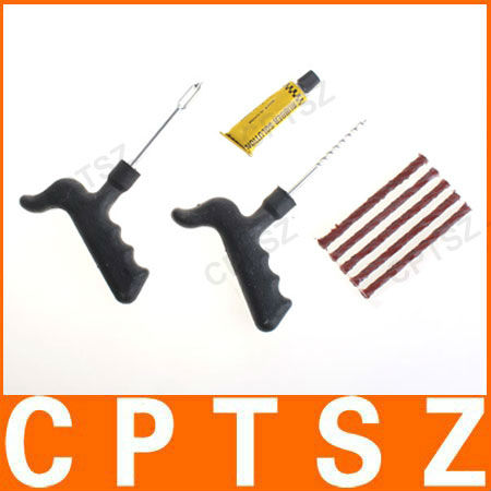 Car Bike Auto Tubeless Tire Repair Tool kit, tyre repair kit