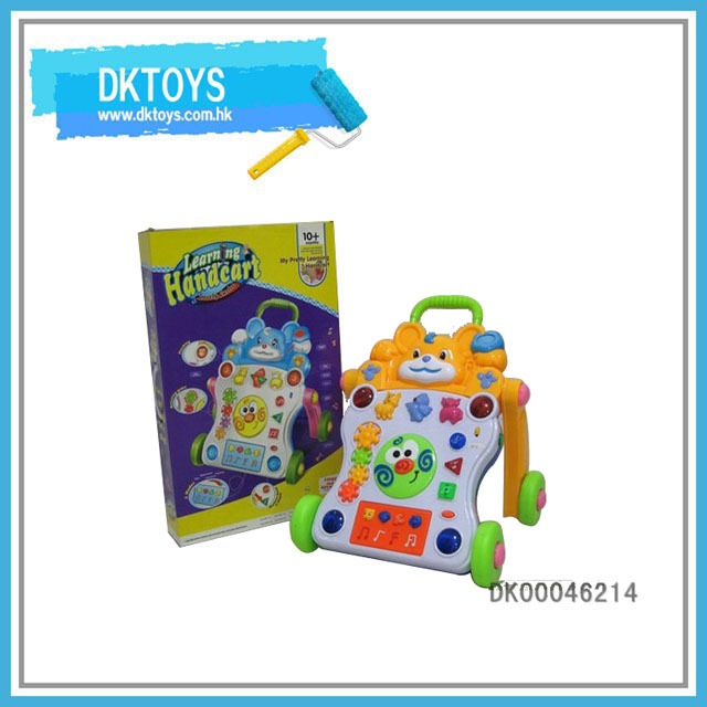 Baby Stroller Toy, Rubber Wheel Baby Walker