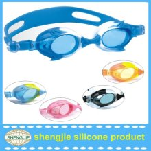 High quality of factory silicone polarized swimming goggles
