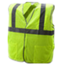 mesh net fabric hi vis vest 3M reflective tape <strong>safety</strong> vest with 3 pockets Chalecos de seguridad