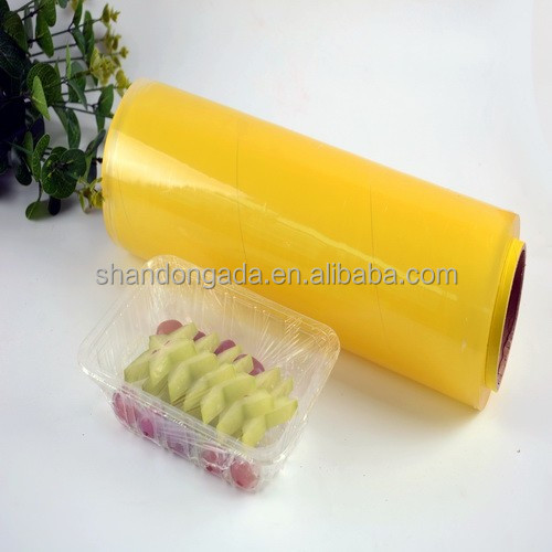 Clear food grade pvc shink plastic film for food grade greenhouse