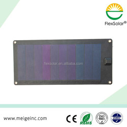 waterproof 6W portable solar charger outdoor panel solar