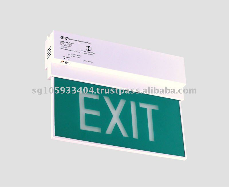 EXIT sign / emergency light