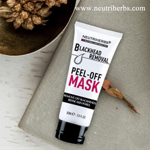 Natual Activated Charcoal Removing Blackhead Facial Mask