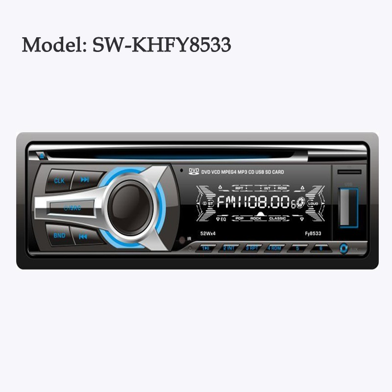 Hotsale Detachable Car MP3 music player with USB/SD/Radio FM Radio from China