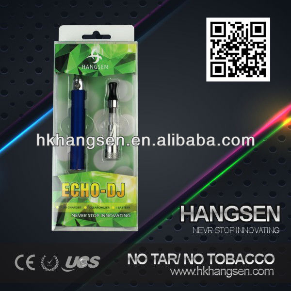 Hangsen international brand names cigarettes - high quality Echo-DJ kits with ce5 atomizer and ego battery