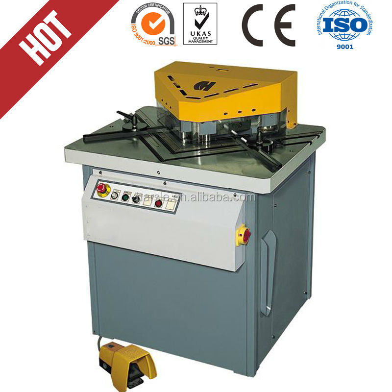Q28Y 6*200 Hydraulic Notching Machine, High Efficiency V Notch Cutting Machine