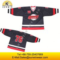 2014 New Custom design sublimation ice hockey jersey,China manufaturer cheap sports apparel ice hockey jerseys