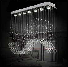 35W modern crystal chandelier pendant fancy light